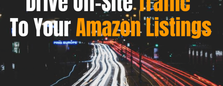 Generate Amazon sales traffic